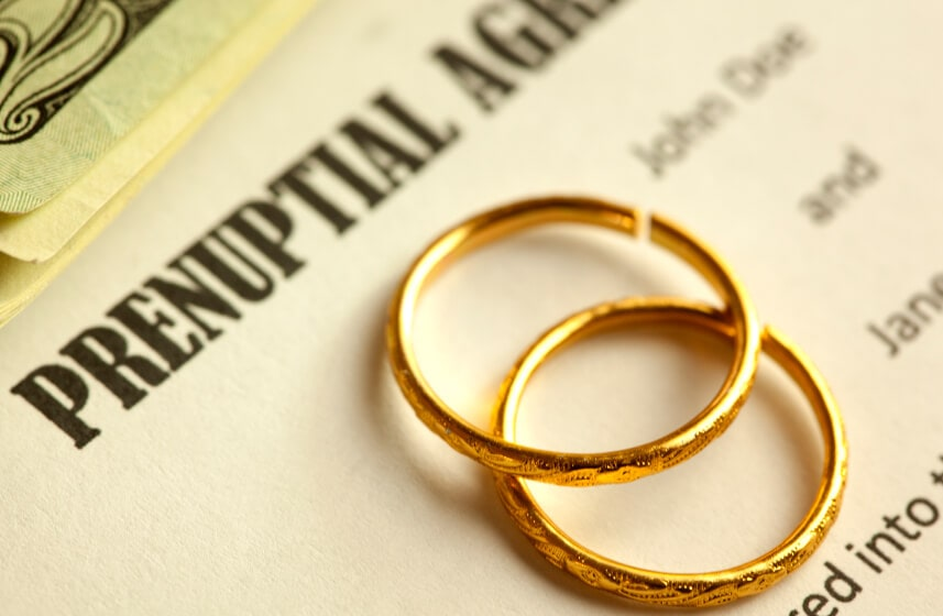 Is prenuptial contract future of India